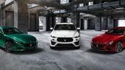 3 nouvelles Maserati, toutes équipées d'un V8