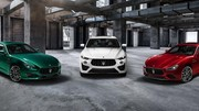 Maserati complète la famille Trofeo avec les Ghibli et Qutroporte