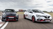 Essai Mini John Cooper Works GP vs Mégane R.S. Trophy-R : le match !