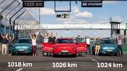 1026 km sans recharger en Hyundai Kona électrique