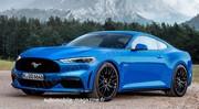 Notre première image de la future Ford Mustang 2022