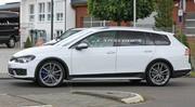 Les premières images de la future Volkswagen Golf R SW 2021