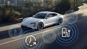 Taycan (2021) : Porsche met à jour sa sportive 100 % électrique