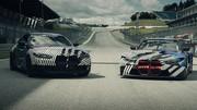 Les BMW M4 Coupé et M4 GT3 dévoilées au GP Moto de Styrie