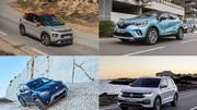 Top 20 des SUV les plus vendus au premier semestre 2020 en France