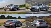 La BMW Série 5 restylée face au précédent modèle
