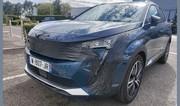 Peugeot 3008 (2020). La version restylée surprise dans la rue