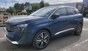 Première sortie camouflée pour le Peugeot 3008 restylé
