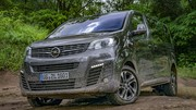 Essai Opel Zafira Life Dangel 4x4
