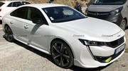 """Peugeot 508 PSE (2020) : surprise """"nue"""" dans les Alpes !"""