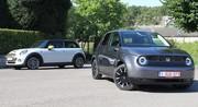 Essai Honda e vs Mini Cooper SE : conflit de génération ?
