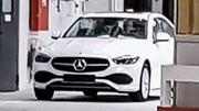 La Future Mercedes Classe C (2021) surprise sans camouflage