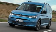Volkswagen Caddy aussi en mode camping California