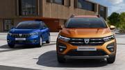 Les premières photos officielles de la nouvelle Dacia Sandero
