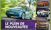 Nouveautés automobiles : Un second semestre 2020 chargé