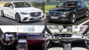 La nouvelle Mercedes Classe S face à l'ancien modèle