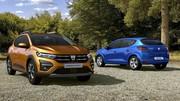 Dacia Sandero, Sandero Stepway et Logan 3 2021 : premières photos et infos