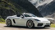 Essai Porsche 718 Spyder