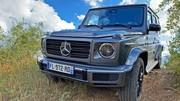 Essai Mercedes Classe G500 : Gloutonnerie et sensations assurées