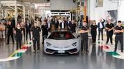 Lamborghini a vendu presque autant d'Aventador que Renault a vendu de Wind