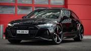 Essai Audi RS6 Avant (2020) : l'imposante familiale
