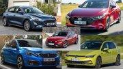 La nouvelle Seat Leon face aux VW Golf, Peugeot 308, Ford Focus et Mazda 3