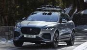 Jaguar F-Pace restylé (2020) : le même en mieux