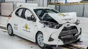 Crash-test Euro NCAP : 5 étoiles pour la Toyota Yaris avec un protocole plus sévère