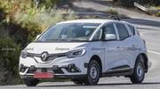 Dacia SUV 7 places (2022) : Les premiers mulets sont de sortie