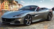 Ferrari Portofino M (2020) : 620 ch pour la GT 2+2 découvrable