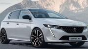 La prochaine Peugeot 308 imaginée par Kolesa