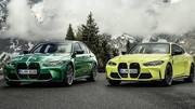 BMW M3 & M4 : elles peuvent se mettre en quatre