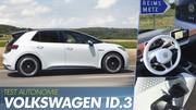 Essai Volkswagen ID.3 : La vérité sur l'autonomie de l'ID.3 électrique