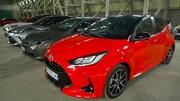 Caradisiac - Le stand Toyota : tout hybride (ou presque)