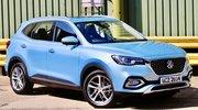 MG HS (2021) : Un nouveau SUV hybride rechargeable en approche