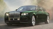 Rolls-Royce Ghost : une version limousine encore plus luxueuse en approche