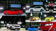 Caradisiac - Le stand Peugeot: électrisant