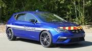 La gendarmerie s'équipe de Leon Cupra pour remplacer les Mégane RS