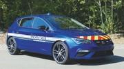 Gendarmerie : les Renault Megane R.S. remplacées par des Seat Leon Cupra