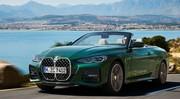 BMW Série 4 Cabriolet (2020) : capote et grosse calandre