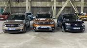 Caradisiac - Le stand Dacia : classique