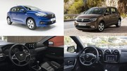 La nouvelle Dacia Sandero face à l'ancienne génération