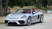 Essai Porsche 718 Spyder (2020 - ) : Maintenant ou jamais