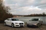 Comparatif Audi A5 3.0 TDI et Renault Laguna Coupé 3.0 dCi: une question de légitimité