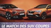 Renault Arkana vs Citroën C4 : Premier match des SUV-coupés français
