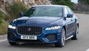 Jaguar XF restylée (2020) : Mise à jour à partir de 51 900 €