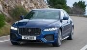 Jaguar XF restylée (2020) : juste par instinct de survie