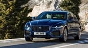 Jaguar XF (2021) : hybridation légère et mises à jour pour la berline