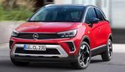 Opel Crossland : un nouveau visage