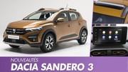 Dacia Sandero 3 (2021) : La citadine low cost en détail